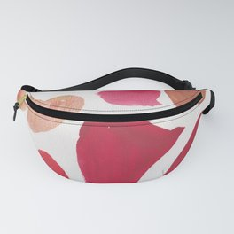 36   | 190408 Red Abstract Watercolour Fanny Pack