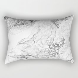 Severn Estuary Rectangular Pillow