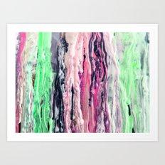 Wax #2 Art Print