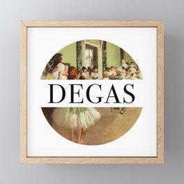 Degas Framed Mini Art Print