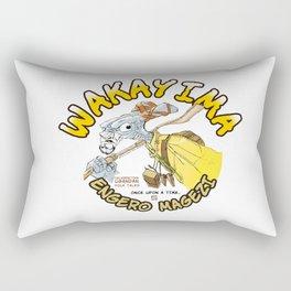 Wakayima. Character from Ancient Ugandan Folk Tale Rectangular Pillow