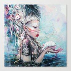 Yolandi The Rat Mistress  Canvas Print