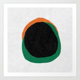 YOUR CENTER Art Print