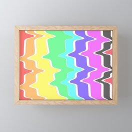 Spring forward into color Framed Mini Art Print
