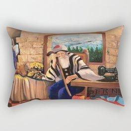 Old Tailor of Jerusalem Rectangular Pillow