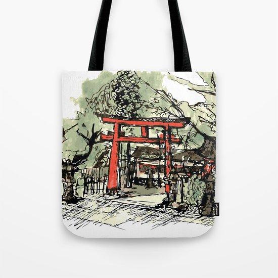 Yoshida Jinja Tote Bag