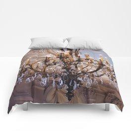 Chandelier, RI Mansion  Comforters