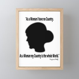 Virginia, My Dear Framed Mini Art Print
