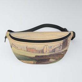 St Andrews Golf Course Scotland 18th Hole Fanny Pack