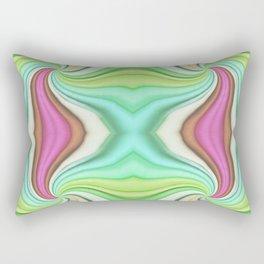 334 - Abstract Paper Design Rectangular Pillow