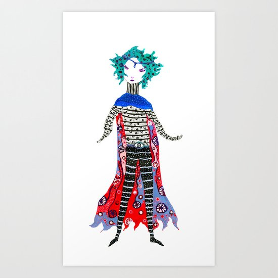 Caped Ramirez Art Print
