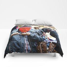 Masked Comforters