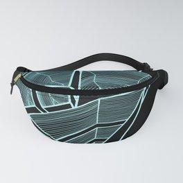 Pockets - Inverted Blue Fanny Pack