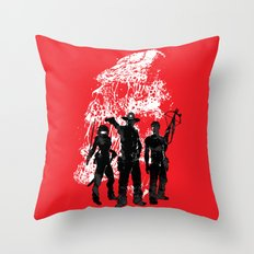Waiting For The Dead Throw Pillow