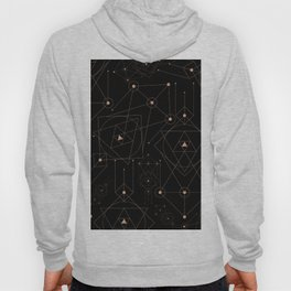 celestial pattern design Hoody