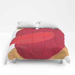 35   | 190408 Red Abstract Watercolour Comforters