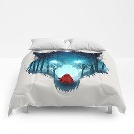 Big Bad Wolf (light version) Comforters