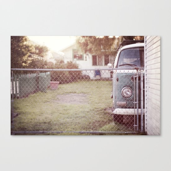 staying home Canvas Print