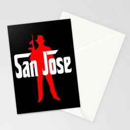 San Jose mafia Stationery Cards