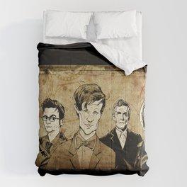 Doctor Who - Nine, Ten, Eleven, Twelve, and Thirteen Comforters
