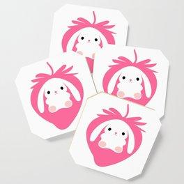 Mei the Strawberry Rabbit Coaster