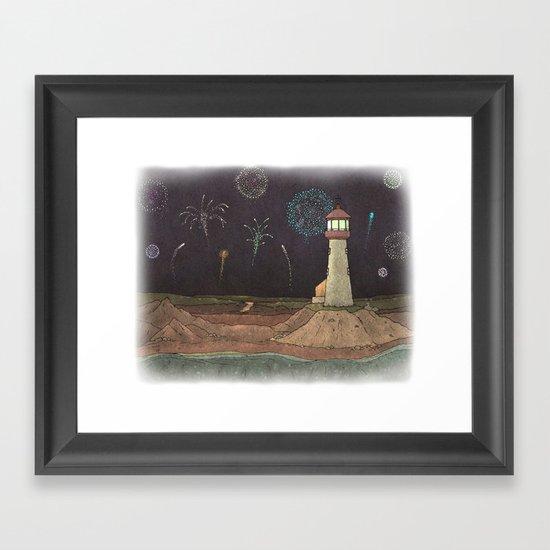 Lighthouse #8 Framed Art Print