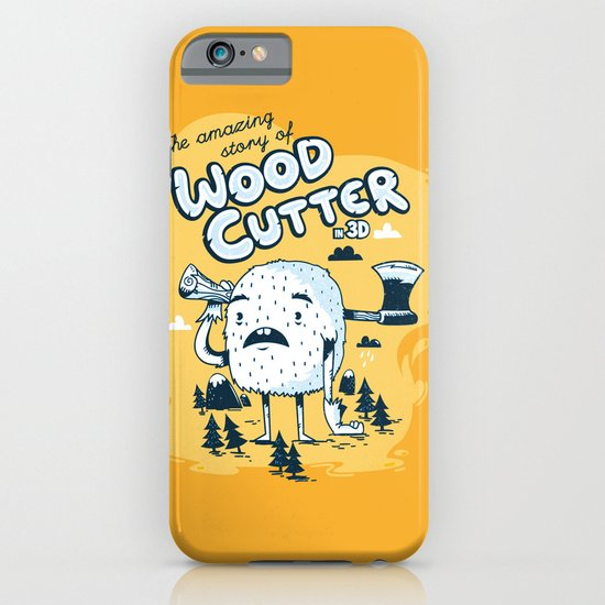 The WoodCutter iPhone & iPod Case