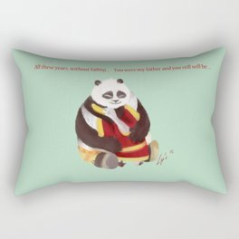 Kung Fu Panda Rectangular Pillow