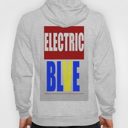The Eletric Blve / rainbow Logo Hoody