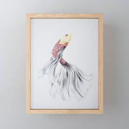 Surfacing Framed Mini Art Print