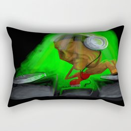 DJ Loud Rectangular Pillow