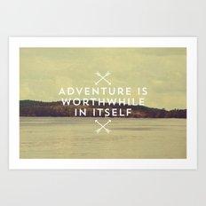 Worthwhile Art Print