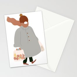 Fall weather  Stationery Cards