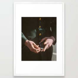 Cigarette Framed Art Print