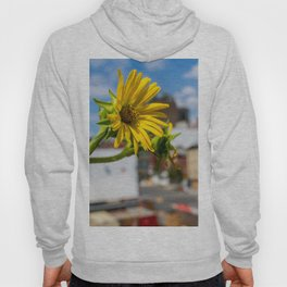 Yellow Flower in NYC Hoody