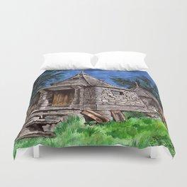 Hagrid's Hut Duvet Cover