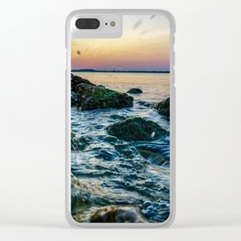 Waco Waves Clear iPhone Case