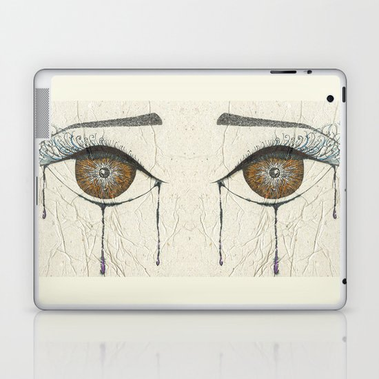 Sad Eye Laptop & iPad Skin