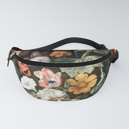 Still Life Flower Painting by Rachel Ruysch Fanny Pack