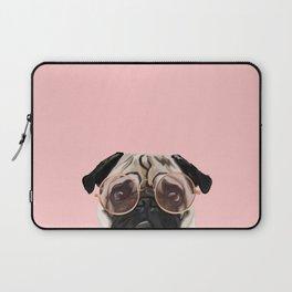 Intellectual Pug Laptop Sleeve