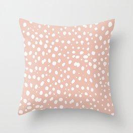 LEOPARD PINK Throw Pillow