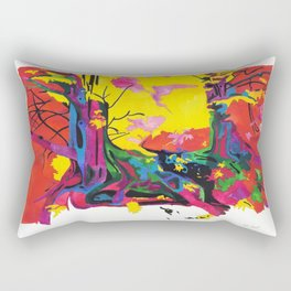 Secret Life of Trees 1/IV Rectangular Pillow