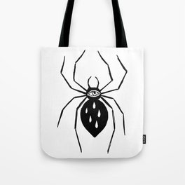 Spider eye Tote Bag