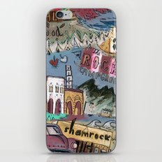 Rocky Campground iPhone & iPod Skin