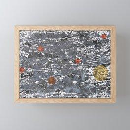 Inktober18 Day 31 / Ink Painting Framed Mini Art Print
