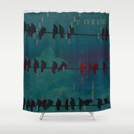 Voice Shower Curtain