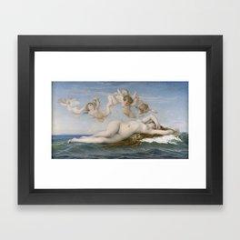 The Birth of Venus by Alexandre Cabanel Framed Art Print