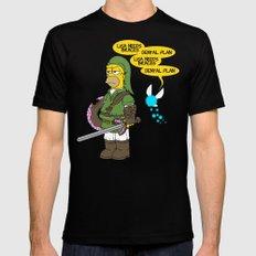 The Simpsons: Legend of Zel... er- D'OH! Mens Fitted Tee Black MEDIUM