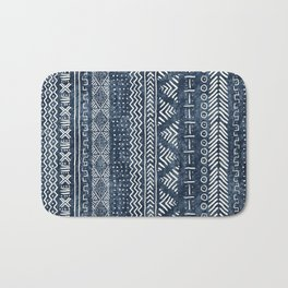 Mud Cloth Stripe Bath Mat