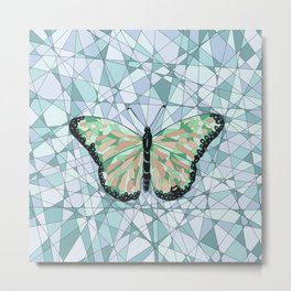 Butterfly free Metal Print